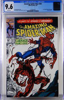 Marvel Comics Amazing Spider-Man #361 CGC 9.6