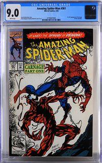 Marvel Comics Amazing Spider-Man #361 CGC 9.0
