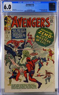 Marvel Comics Avengers #6 CGC 6.0