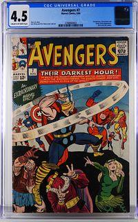 Marvel Comics Avengers #7 CGC 4.5