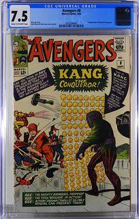 Marvel Comics Avengers #8 CGC 7.5
