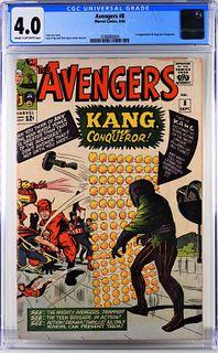 Marvel Comics Avengers #8 CGC 4.0