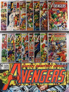58PC Marvel Comics Avengers #13-#238 & KS #2