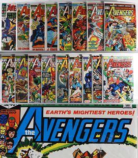 89PC Marvel Comics Avengers #32-#200 & KS #3-#11