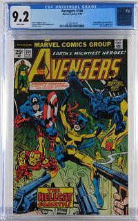 Marvel Comics Avengers #144 CGC 9.2