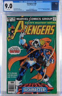 Marvel Comics Avengers #196 CGC 9.0