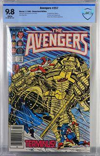 Marvel Comics Avengers #257 CBCS 9.8