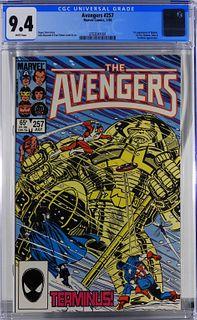 Marvel Comics Avengers #257 CGC 9.4