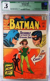 DC Comics Batman #181 CGC 0.5
