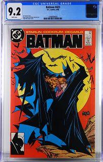 DC Comics Batman #423 CGC 9.2