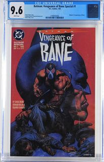 DC Comics Batman Vengeance of Bane #1 CGC 9.6