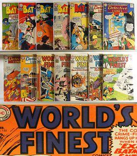 17PC DC Batman Detective Comics World's Finest Lot