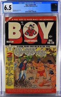 Lev Gleason Publications Boy Comics #49 CGC 6.5