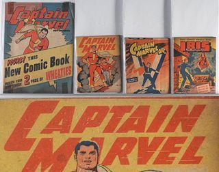 4PC Golden Age Captain Marvel Premium Comic Group