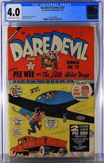 Lev Gleason Pub. Daredevil Comics #72 CGC 4.0