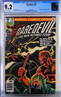 Marvel Comics Daredevil #168 CGC 9.2