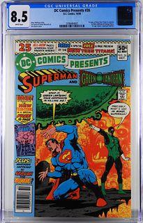 DC Comics DC Comics Presents #26 CGC 8.5
