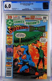 DC Comics DC Comics Presents #26 CGC 6.0