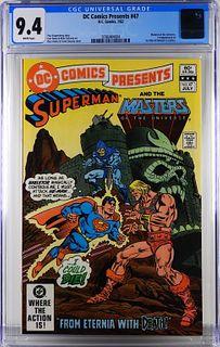DC Comics DC Comics Presents #47 CGC 9.4