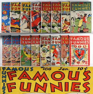 34 Eastern Color Printing Famous Funnies #150-#186