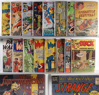 28PC Dell DC Archie Pub. Fawcett Golden Age Comics