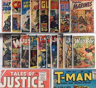 18PC Fiction House Atlas Golden Age Comic Group