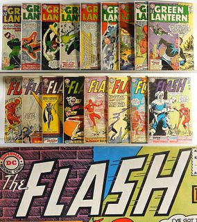 17 DC Comics Green Lantern Flash Early Silver Lot