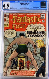 Marvel Comics Fantastic Four #14 CGC 4.5