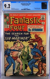 Marvel Comics Fantastic Four #27 CGC 9.2