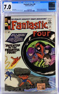 Marvel Comics Fantastic Four #38 CGC 7.0
