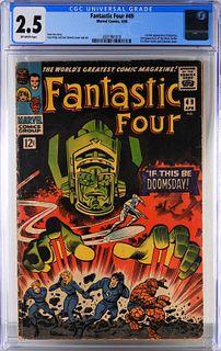 Marvel Comics Fantastic Four #49 CGC 2.5