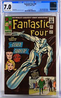 Marvel Comics Fantastic Four #50 CGC 7.0