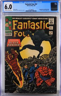 Marvel Comics Fantastic Four #52 CGC 6.0