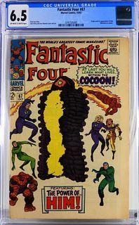 Marvel Comics Fantastic Four #67 CGC 6.5