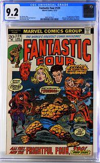 Marvel Comics Fantastic Four #129 CGC 9.2