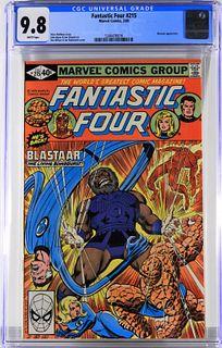 Marvel Comics Fantastic Four #215 CGC 9.8