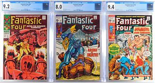 3PC Marvel Comics Fantastic Four CGC Group