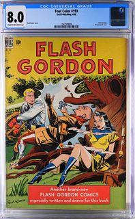 Dell Pub. Four Color #190 CGC 8.0 Flash Gordon