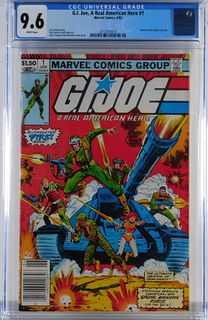 Marvel Comics GI Joe A Real American Hero CGC 9.6