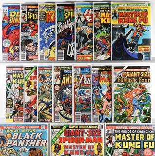 14PC Marvel Comics Bronze Modern Key Issue Group