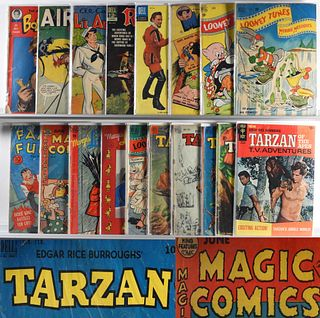 17PC Dell DC Golden Age Comic Group