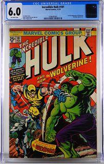 Marvel Comics Incredible Hulk #181 CGC 6.0