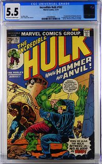 Marvel Comics Incredible Hulk #182 CGC 5.5