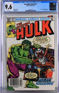 Marvel Comics Incredible Hulk #271 CGC 9.6