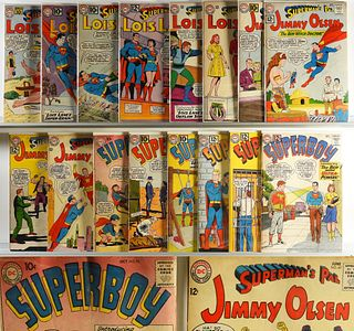 19PC DC Comics Lois Lane Jimmy Olsen Superboy Lot