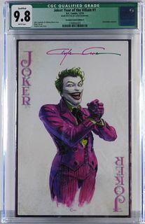DC Comics Joker Year of the Villain #1 CGC 9.8