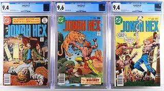 3PC DC Comics Jonah Hex #1 #7 #8 CGC 9.4 9.6