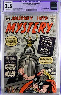 Marvel Comics Journey Into Mystery #85 CGC 3.5