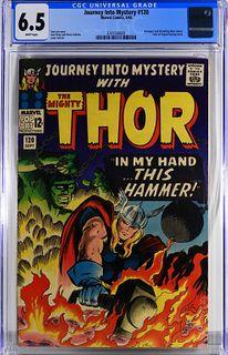 Marvel Comics Journey Into Mystery #120 CGC 6.5
