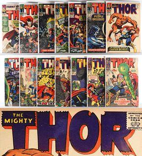 39PC Marvel Comics JIM Thor #104-#170 Group